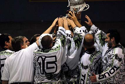 Tour Mudcats Pennsylvania win 2010 NARCH North American Rollerhockey Championship Pro Division 3-2 Saturday in San Jose