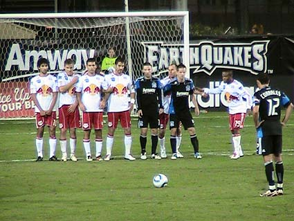 San Jose Earthquakes New York Red Bulls MLS Eastern Confernce Playoff Semifinals soccer football