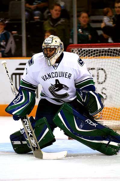 Vancouver Canucks goaltender Roberto Luongo scouting report