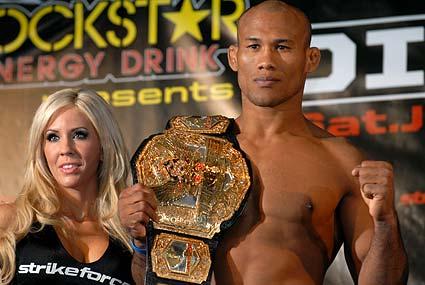 Strikeforce Middleweight champion Jacare Souza