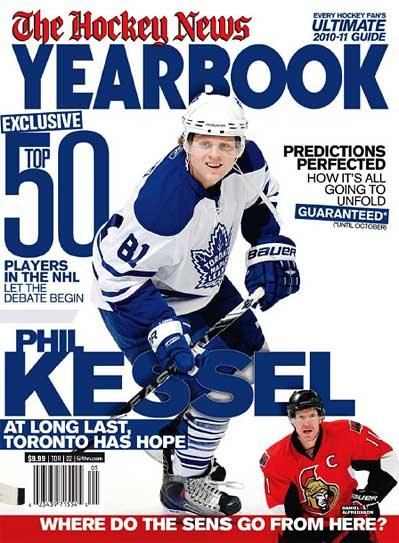 700542b702e The Hockey News 2010-11 Yearbook not hot on Sharks