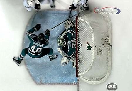 San Jose Sharks Chicago Blackhawks goal video review