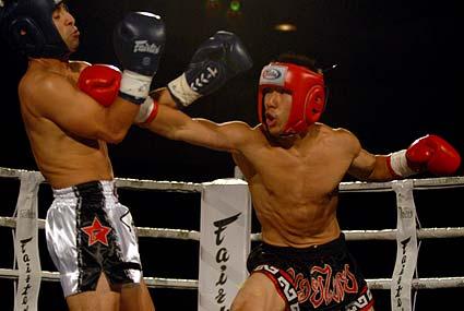 Fairtex Xfight War of the Heroes Muaythai Kickboxing MMA Yomel Fairtex Victor Chan